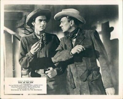 Duel In The Sun Gregory Peck Joseph Cotten Lobby Card