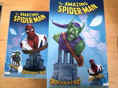 Spider-Man / Green Goblin Set  Dynamic forces 1962 Ex.