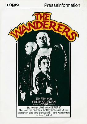 The Wanderers ORIGINAL Presseheft Ken Wahl KULT-MOVIE