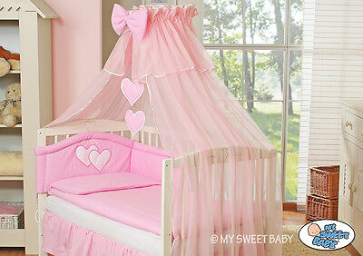 babybett kinderbett 120x60 wei matratze bettset komplett. Black Bedroom Furniture Sets. Home Design Ideas
