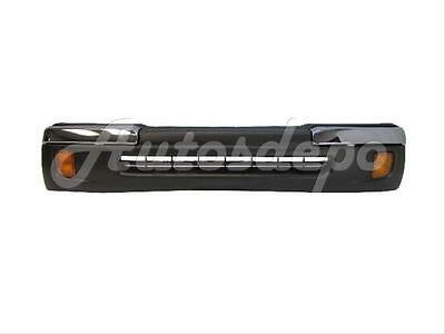 Lower Cover Raw Black Bundle for 1998-2000 Tacoma 2Wd Front Bumper Chrome Trim