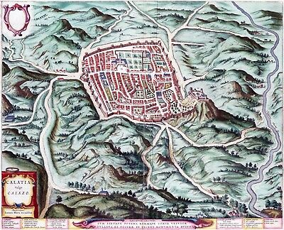 Reproduction plan ancien - Caiazzo