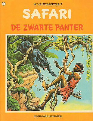 SAFARI 14   -  ZWARTE PANTER - Willy Vandersteen