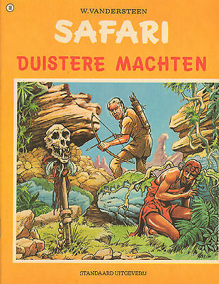 SAFARI 18   - DUISTERE MACHTEN - Willy Vandersteen