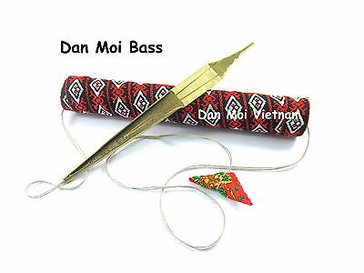Jew's Harp Dan Moi Bass - Vietnam Mouth Khomus Trump Tribal Sound