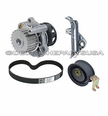 Audi Tt A4 Quattro 1.8 1.8T Water Pump Timing Belt Tensioner Idler Roller Kit 4