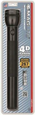NEW MAGLITE S4D016 BLACK 4D CELL FLASHLIGHT MAG-LITE USA MADE NEW IN PACK SALE