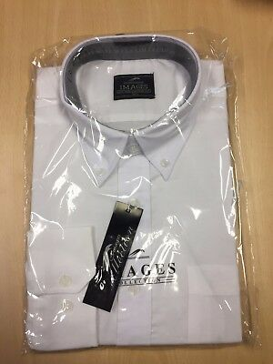BRAND NEW With Tags White Long Sleeve Oxford Shirt