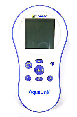 Jandy PDA Zodiac R0441800 Wireless Aqualink Remote Controller 8265 8261 - White