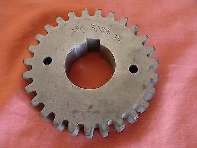 NEW OLD STOCK BOBST MARTIN SPUR GEAR 336-3038 Outside Diameter: 140MM BORE: 40MM
