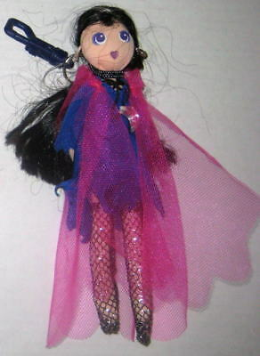 HOOKUPS 2001 RAVEN EDGY PLAY TOYS POSEABLE CLIPON DOLL