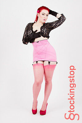 Belle Vintage Style High Waisted Girdle 6 Suspenders Clearance Sale Was £28.95