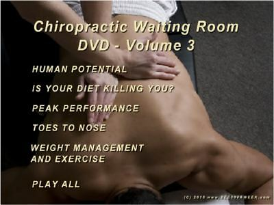 The See300Aweek Chiropractic Waiting Room Dvd - Vol 3