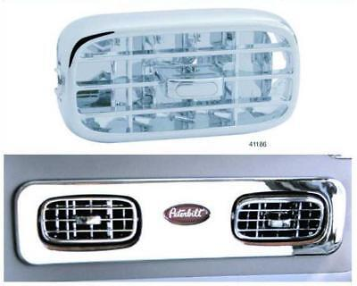 Peterbilt 2006 & Up Chrome Plastic A/C Vent 4 Pack