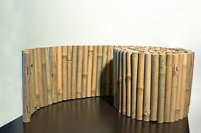 """BF03-NATURAL BAMBOO LANDSCAPE EDGING, 8"""" x 10'"""