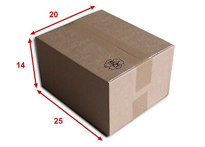 100 boîtes emballages cartons  n° 22   - 250x200x140 mm - simple cannelure