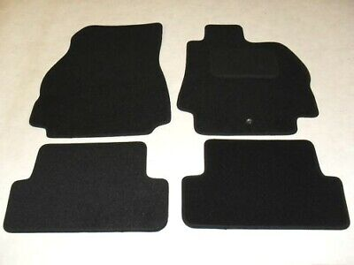 Renault Megane 2002-08 Fully Tailored Deluxe Car Mats in Black