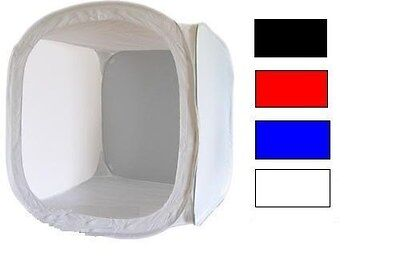 60 CM Soft Light Box Tent Cube with 4 Color Backdrop Photo Studio Rocwing