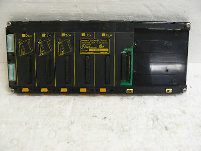 Omron C200H-Bc051-V1 Cpu Base Unit 5 Slot Rack