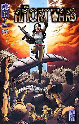 Amory Wars Vol 1 5 $3.99 copy Coheed Cambria cvr D NM-