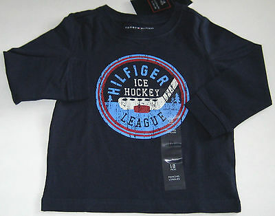 New Tommy Hilfiger Boys Short or Long Sleeves Tops