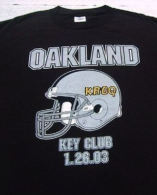 ALL-AMERICAN REJECTS oakland 2003 key club LARGE T-SHIRT