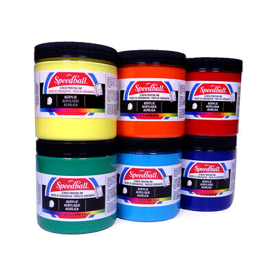 Speedball Acrylic Screen Printing Ink - Choose colour
