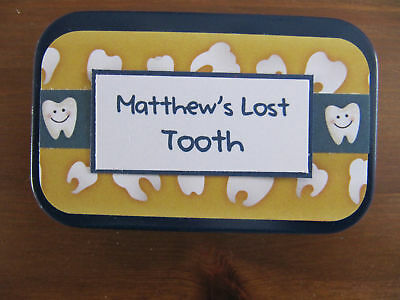 Tooth Fairy Tins