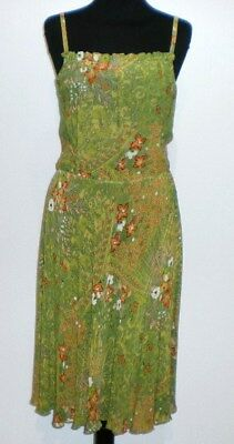 CULT VINTAGE '60 Abito Vestito Donna Viscosa Rayon Woman Dress Sz.S - 42