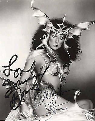 Cher (Music) Signed Photo Print 02