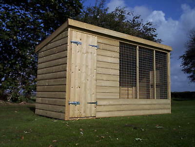 Dog Kennel And Run  -  From £305