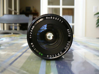 TOYO OPTICS Wide Angle lens 28mm 1:2.8 for CANON Camera