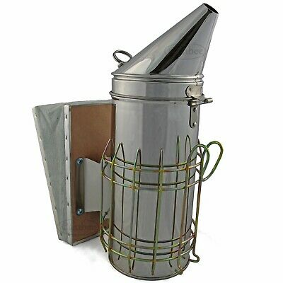Bee Smoker Stainless Steel Large Beekeeping New