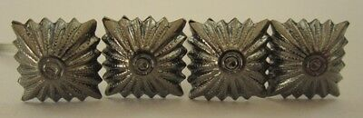German Army Small Antique Rank Pips - 4 Pack - Ww2 Repro Soldier Military New