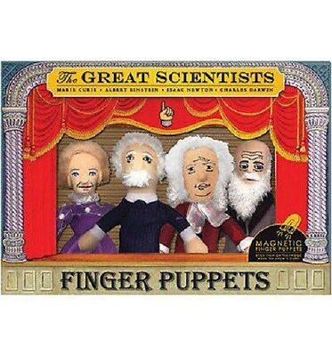 Great Scientists Puppet Set, NEW