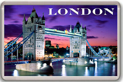 Londres Imán Nevera London Fridge Magnet Souvenir