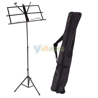 Folding Music Sheet Stand for Musicians W/ Bag / Case