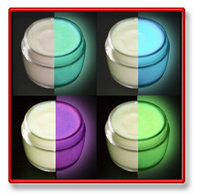 GLOW in the DARK Paint & Fabric Paint Daytime Invisible, Rave,Party,Graffiti.
