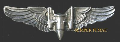 WOW MINI US AIR FORCE AERIAL GUNNER WING ARMY CORPS PIN