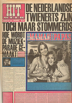 HITWEEK 1967 nr. 16 - MAMA'S & PAPA'S / JAN CREMER / JERRY LEE LEWIS