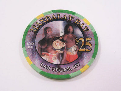 Mandalay Bay $25 Limited Edition Holyfield Poker Chip