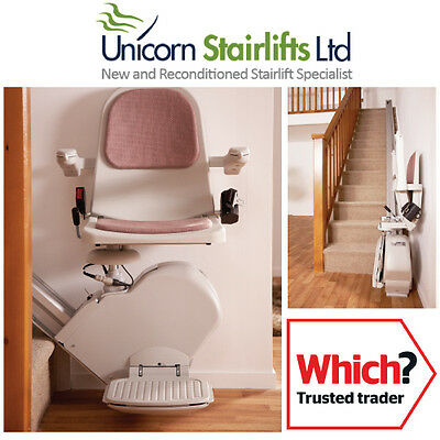 Acorn Slimline Stairlift   Fully Reconditioned   Straight Stair Lift