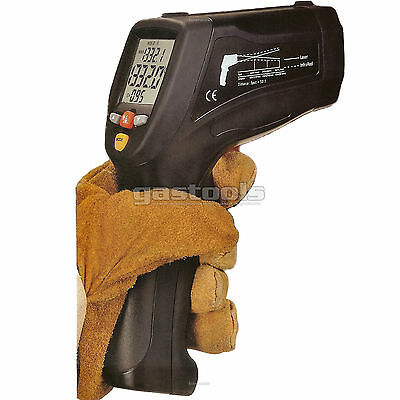 50:1 Dual Laser Infrared Thermometer 1200C Software USB