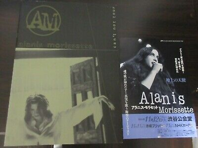 Alanis Morissette 1996 Japan Tour Book Concert Program
