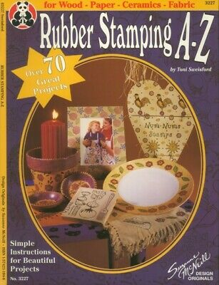 Rubber Stamping A-Z Instruction Booklet 70+ Projects - 30 Days To Shop & Pay!