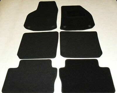 Vauxhall Zafira 2006-12 Fully Tailored Fit Car Mats in Black