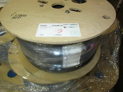 1000 Ft Belden 1695A Plenum SDI/HDTV Black Coaxial Cable.