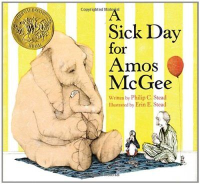 A Sick Day for Amos McGee-Philip Christian Stead