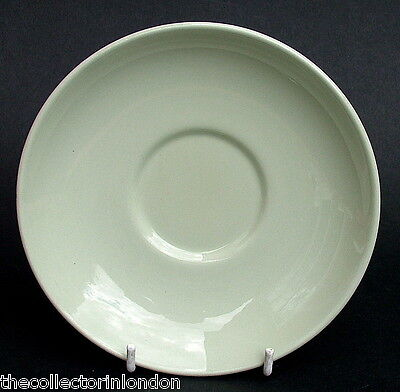Vintage 1960's Spode Flemish Green Pattern Tea Saucers 15.5cm Dia Look in VGC