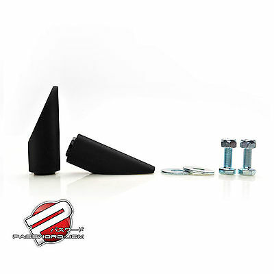 Password JDM Ruckus Zoomer Aluminum Foot Pegs BLACK